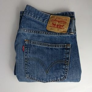 Levi's 559 relaxed blue jeans men's size 30 X 32